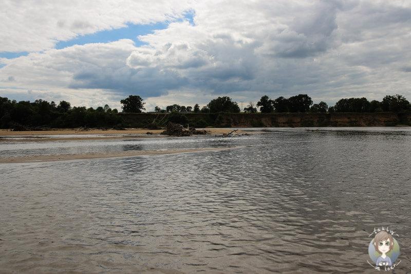 Kanutour auf dem Fluss Allier Frankreich