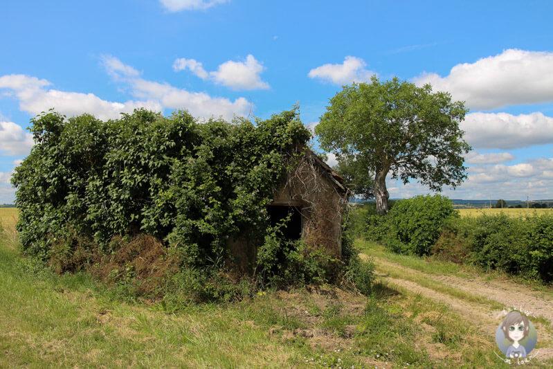 Die Landschaft um Chantelle, Frankce