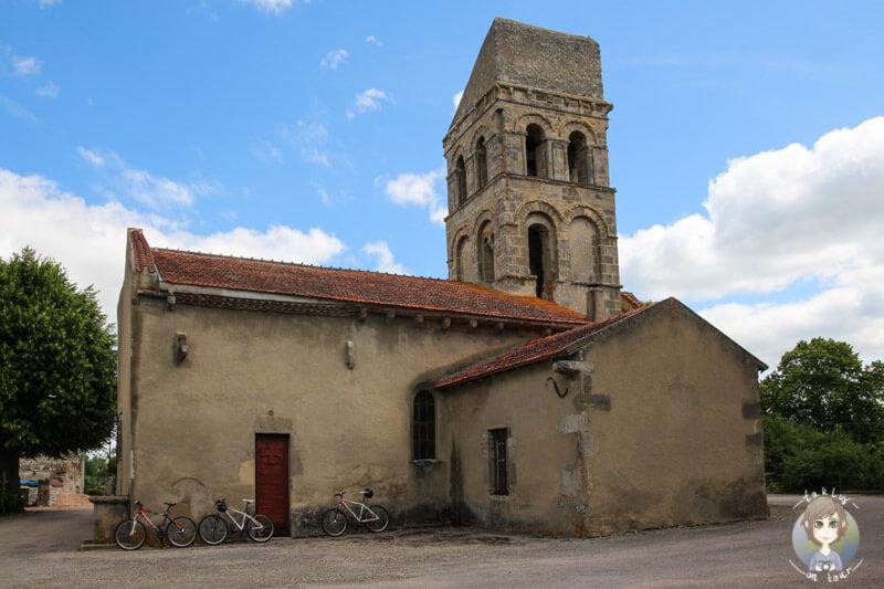 Eglise Saint-Martin de Senat à Taxat Senat nahe Chantelle, Frankreich