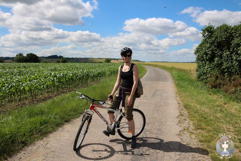 Fahrradtour durch Chantelle, Auvergne
