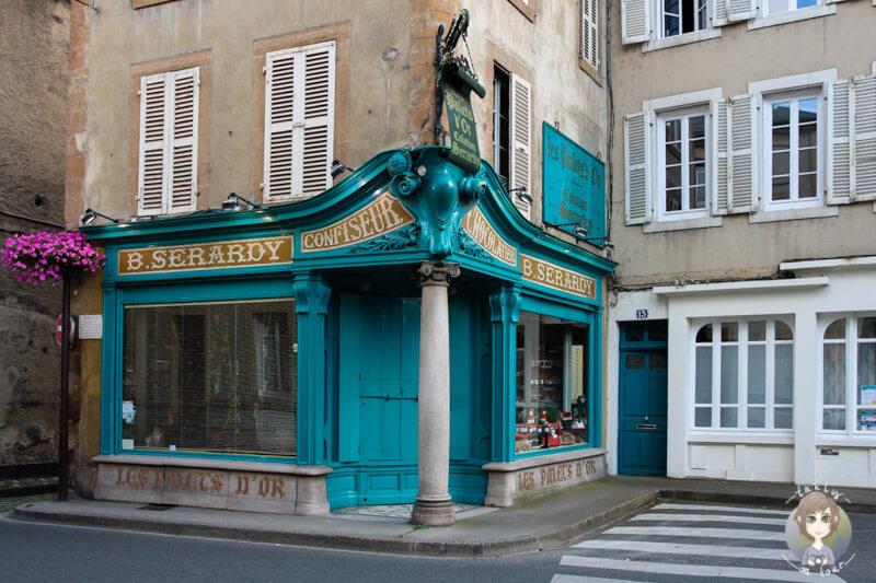 Historische Altstadt von Moulins, Frankreich