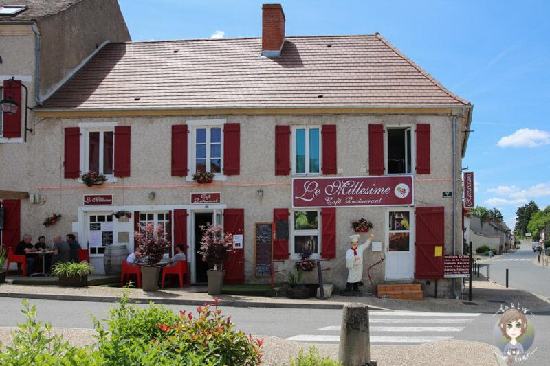 Restaurant in Chantelle, Frankreich
