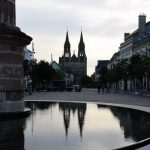 Ein Tag in Moulins, Frankreich