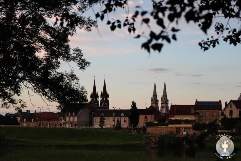 Stadtansicht von Moulins