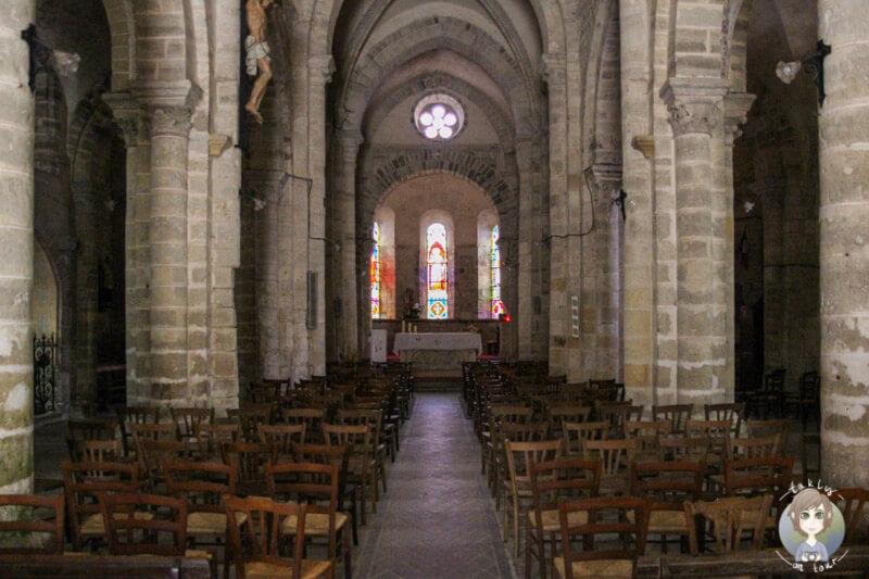 Église Saint-Jean-Baptiste de Charroux, France