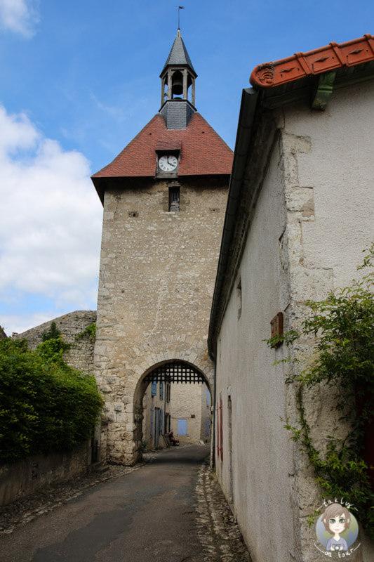 Das Westtor - La Porte de l'Horloge, Charroux, France