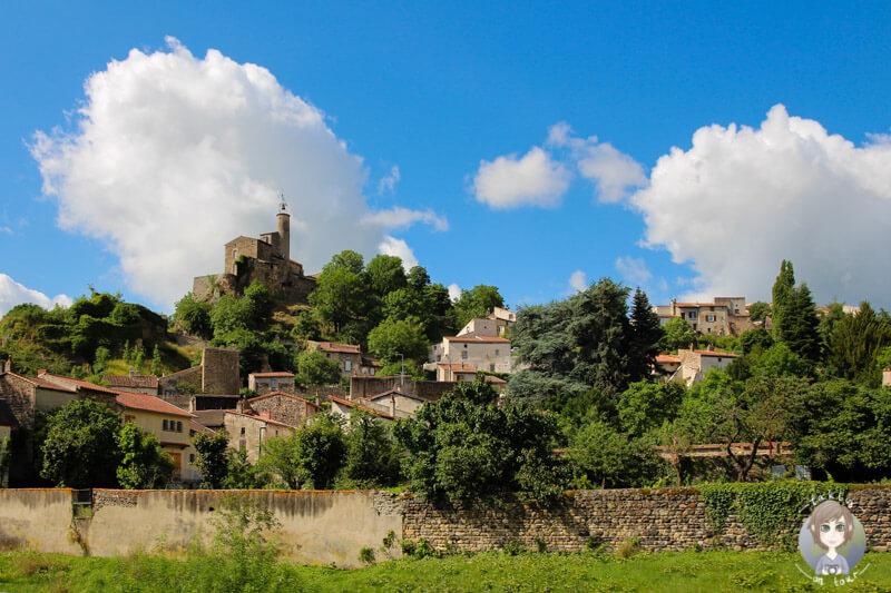 Die Auvergne, eine Region in Frankreich