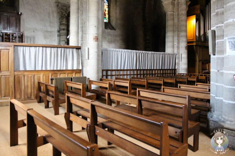 Die Kirche St. Vincent Chantelle, Frankreich