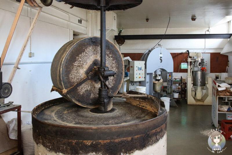 Die Senffabrik in Charroux