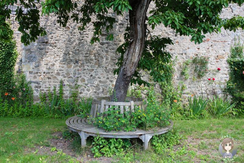 Ein schöner Garten in Chantelle, Frankreich