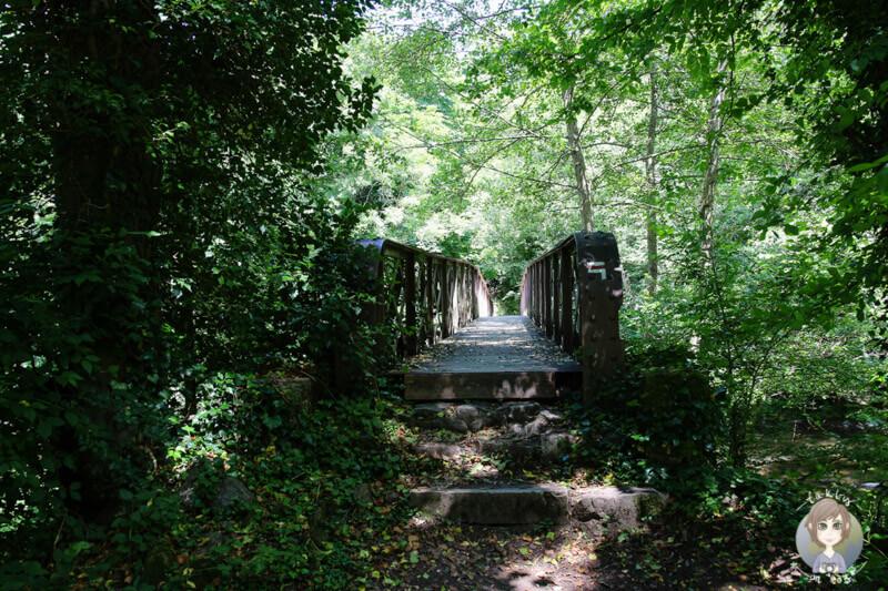 Eine Brücke über den La Bouble, Chantelle