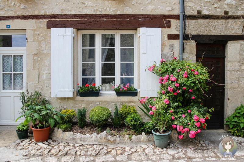 Charroux ist eines der schönsten Dörfer von Frankreich