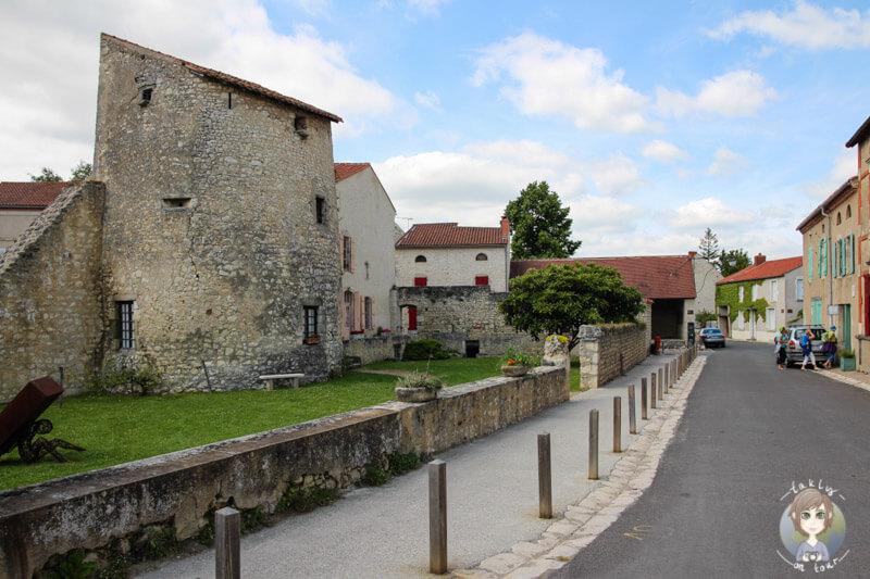 La Tour du guet, Charroux, Frankreich
