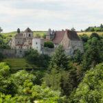 Zu Besuch in Chantelle, Frankreich