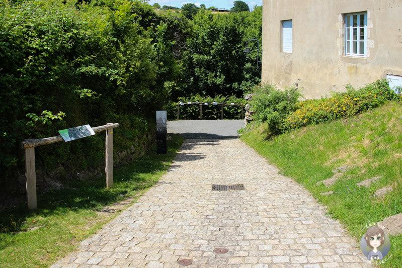 Wanderung Gorges de la Bouble, Chantelle, Frankreich