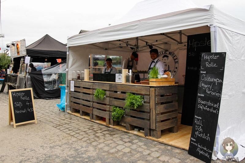 Das Team von Hipster Rolle auf dem Street Food Festival Köln