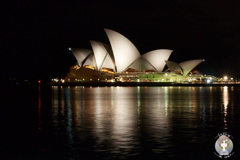 Die berühmte Oper in Sydney, NSW, Australien