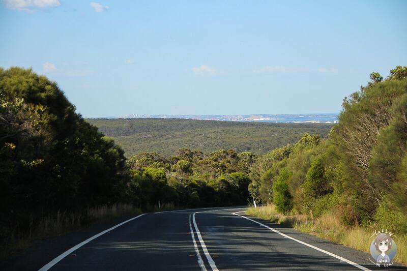 Fahrt Richtung Bundeena, NSW