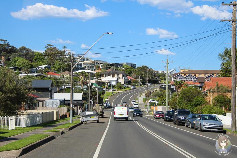 Fahrt über den Tourist Drive 11, NSW