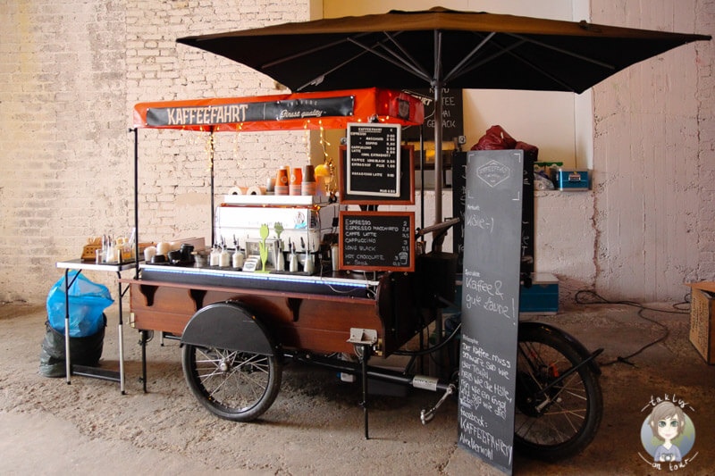 Die Kaffeefahrt mit leckerem Espresso auf dem Street Food Festival Köln