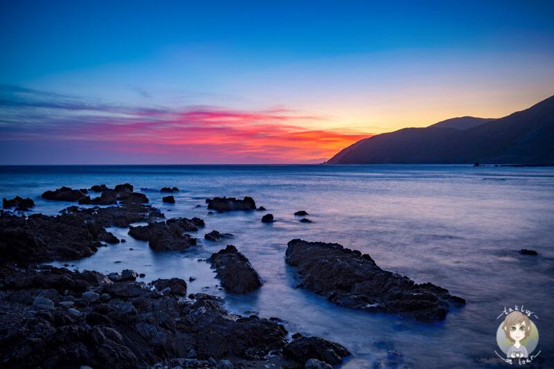 Der Paparoa Point nördlich von Kaikoura in Neuseeland, COPYRIGHT www.taklyontour.de