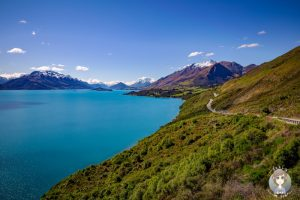 Head of the Lake Wakatipu, Queenstown, Neuseeland - COPYRIGHT Takly on tour