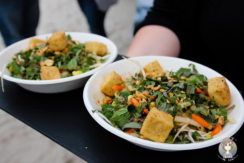 leckerer Bambussprossen-Salat von SK Street Food Köln