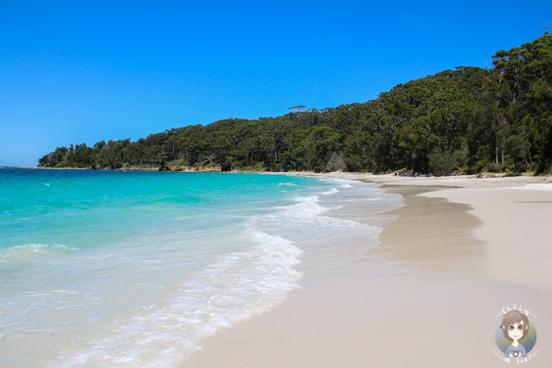 Murrays Beach im Booderee National Park, New South Wales, Australien