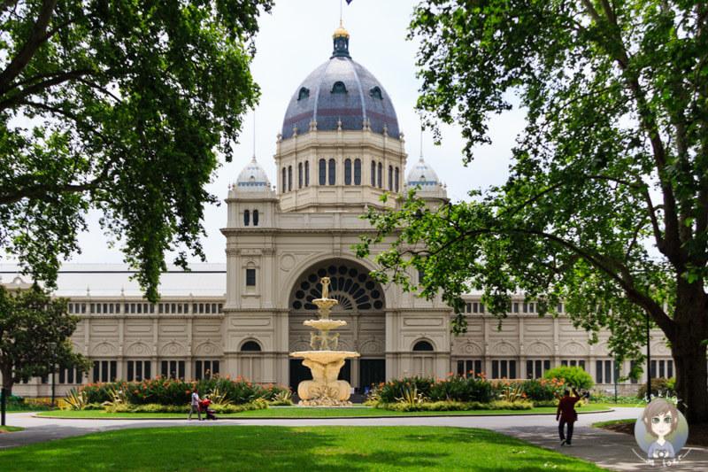Das Royal Exhibition Building in den Carlton Gardens, Melbourne, Australien