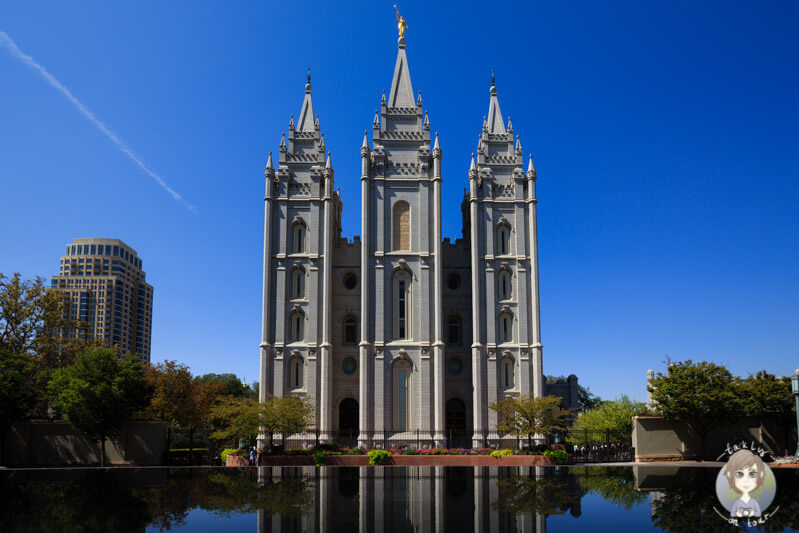 Der Mormonen Tempel, Sightseeing in Salt Lake City