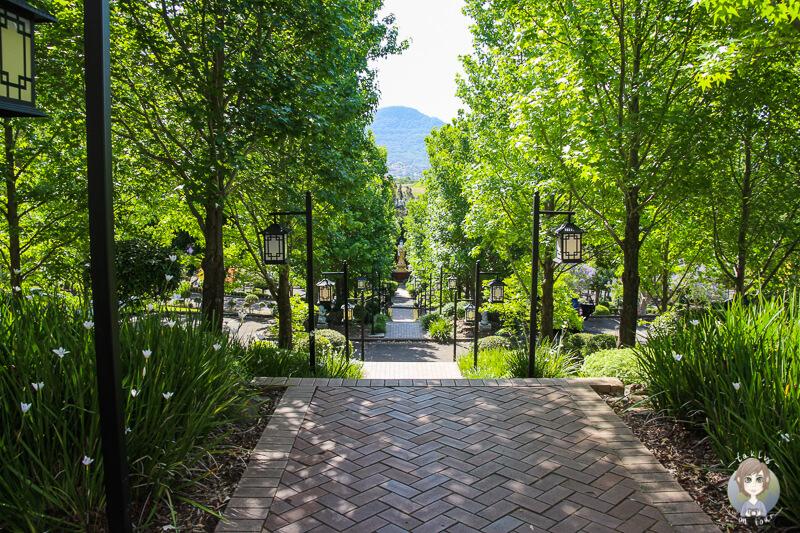 Schöne Tempelanlage in Berkeley