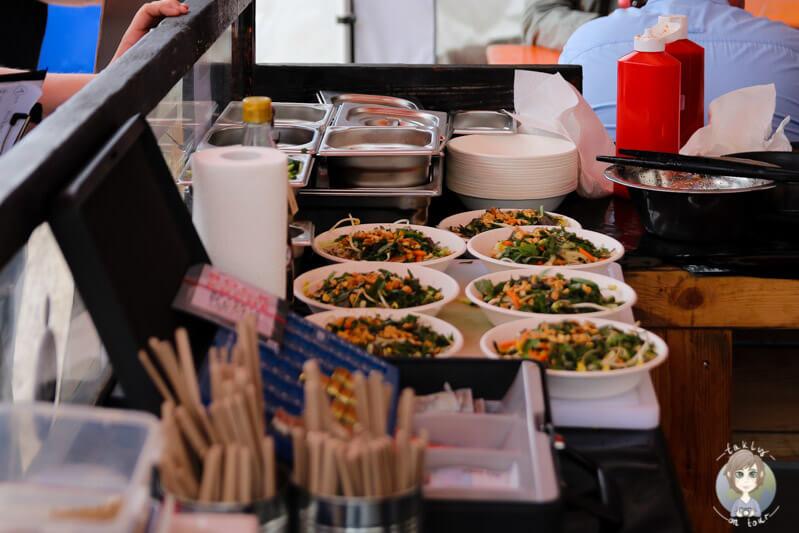 Ostasiatische Küche bei SK - Strassenküche, Street Food Festival in Deutschland