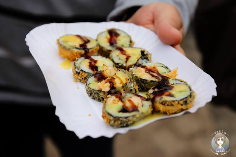 Crunchy Rolls von Roll´in kitchen auf dem Street Food Festival Köln