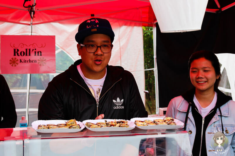 Street Food Festival Köln - Stand Sushi bei Roll´in kitchen