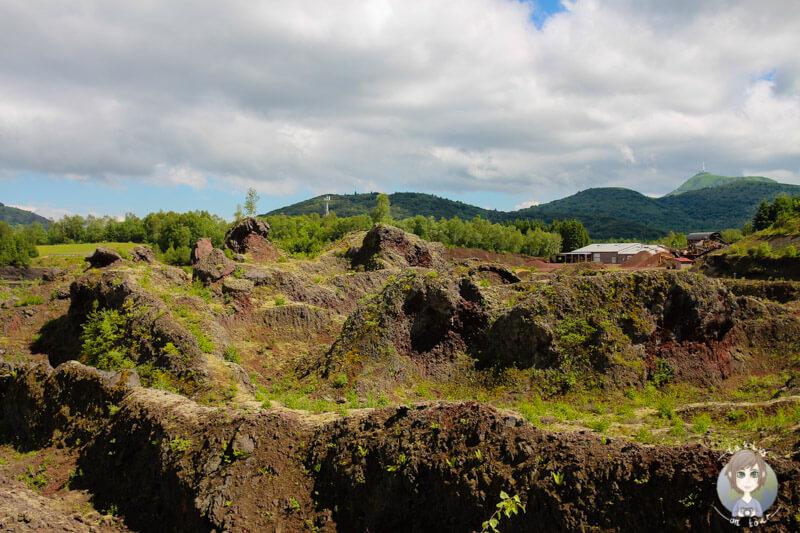 Vulkane erleben in der Auvergne, Frankreich
