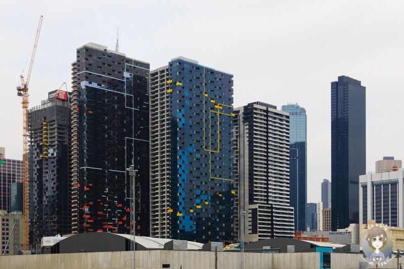 Moderne Architektur in Melbourne