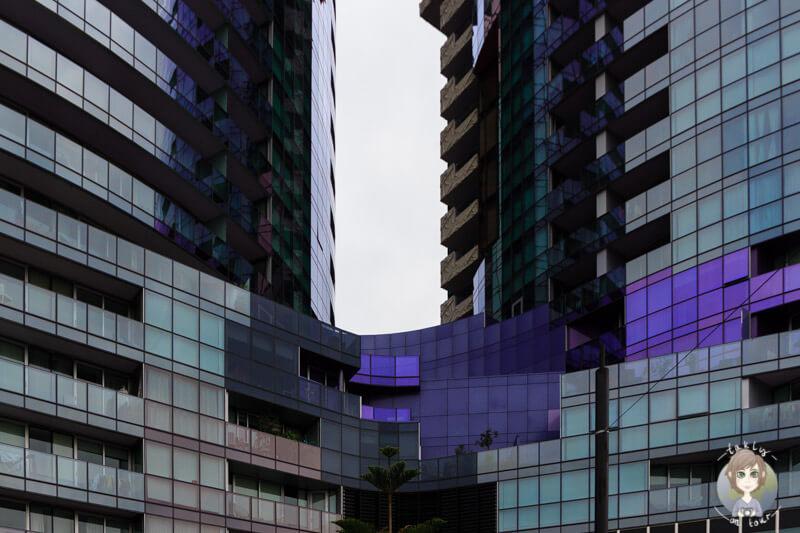 Moderne Häuser in Melbourne