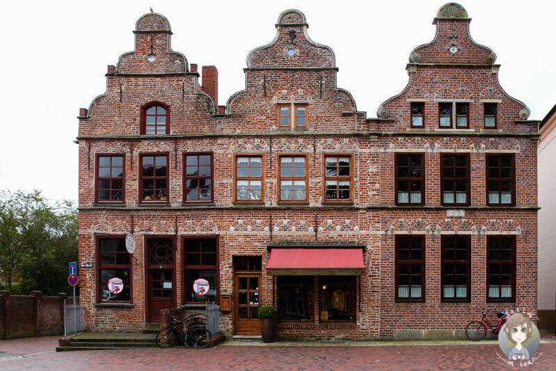 Schöne, historische Häuse in Norden, Ostfriesland
