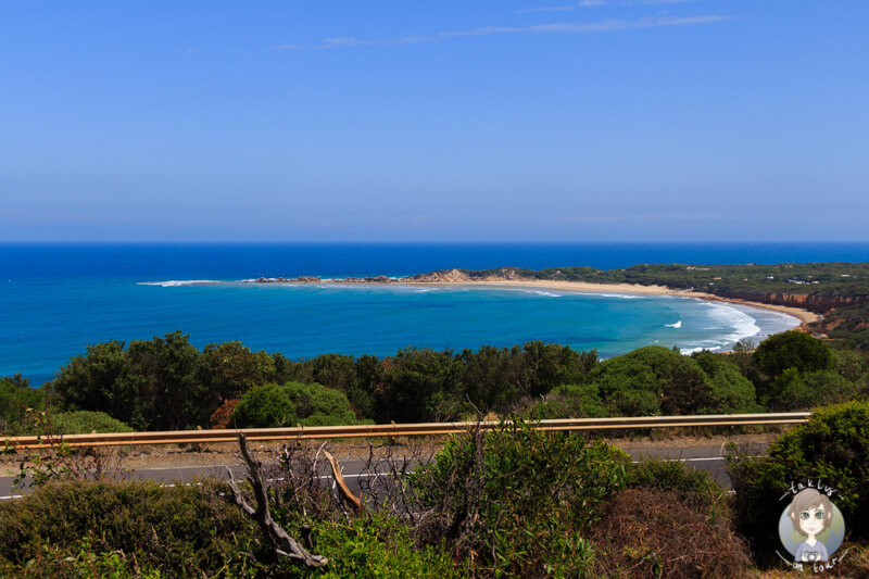 Aussicht vom Anglesea Scenic Lookout