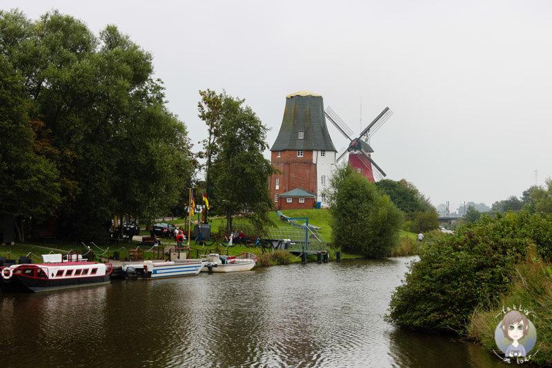 Die Zwillingsmühlen von Greetsiel, Ostfriesland