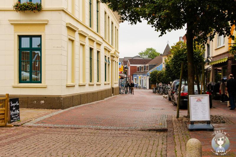 im Zentrum von Esens, Ostfriesland
