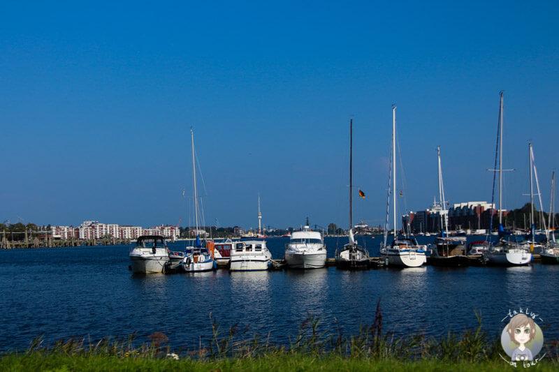 Der Hafen von Wilhelmshaven