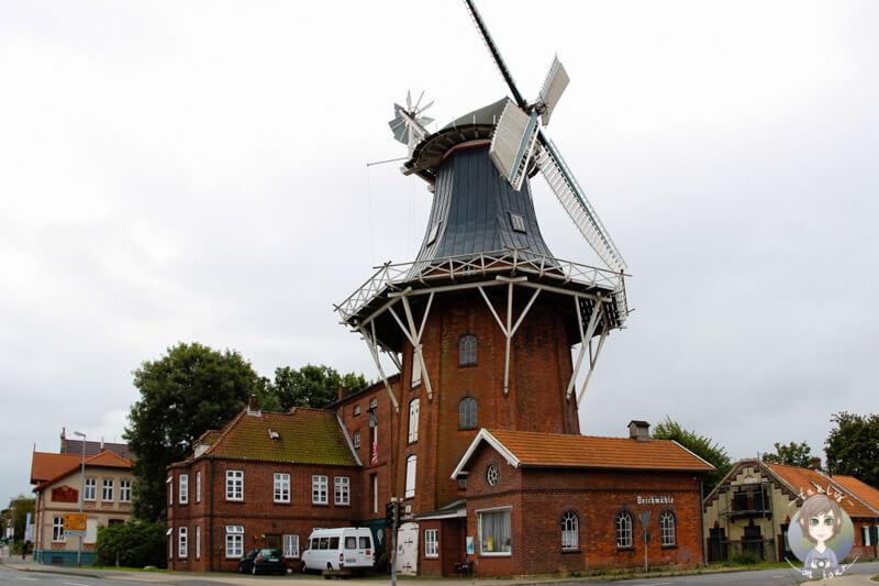 Die Deichmühle in der Bahnhofstraße, Norden
