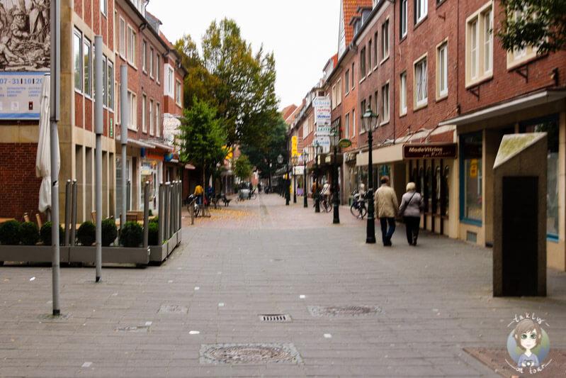 Spaziergang durch die Innenstadt von Emden