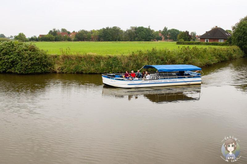 Eine Bootstour durch Greetsiel