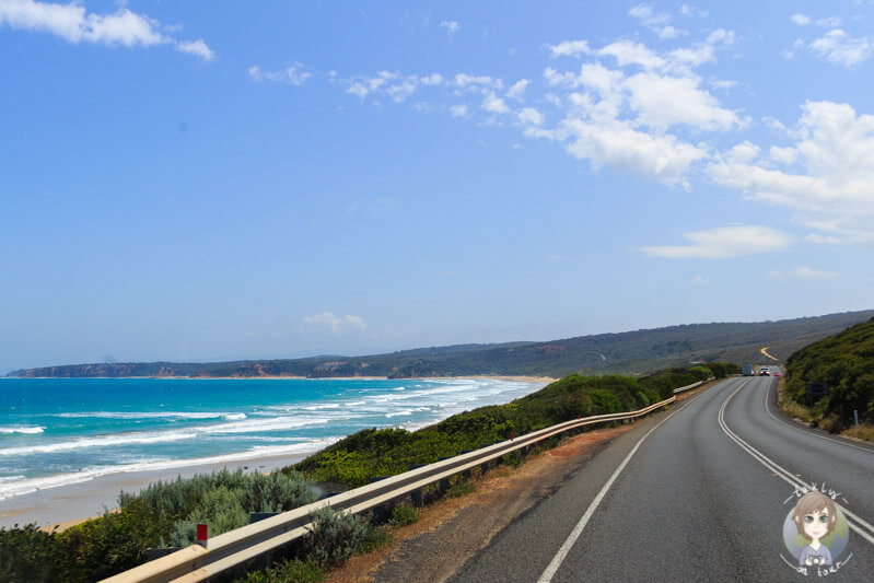 Fahrt über die Great Ocean Road