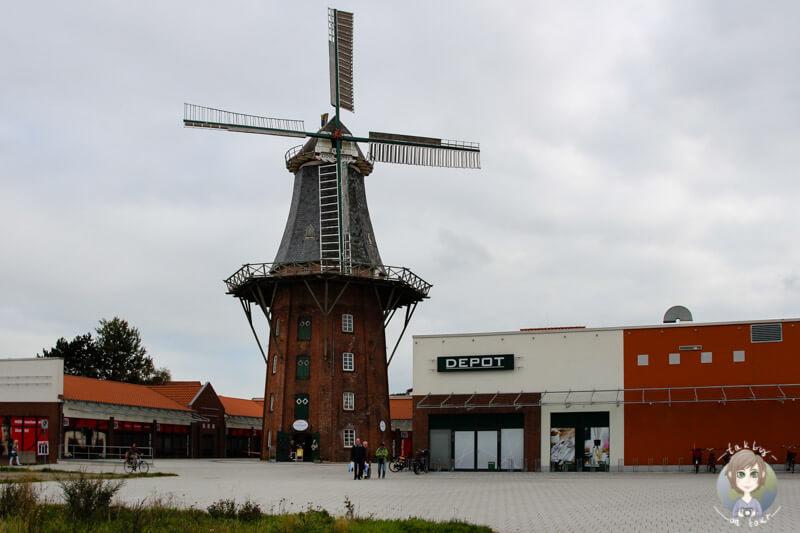 Die Frisia Mühle in Norden - Norddeich, Ostfriesland