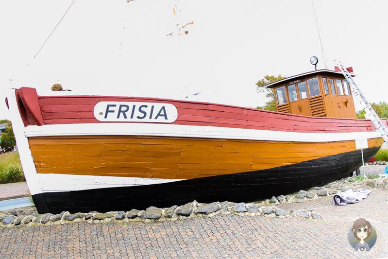 Der Kahn Friisia in Norddeich