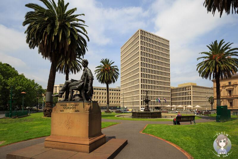 In Melbourne gibt es Immer wieder schöne Parkanlagen