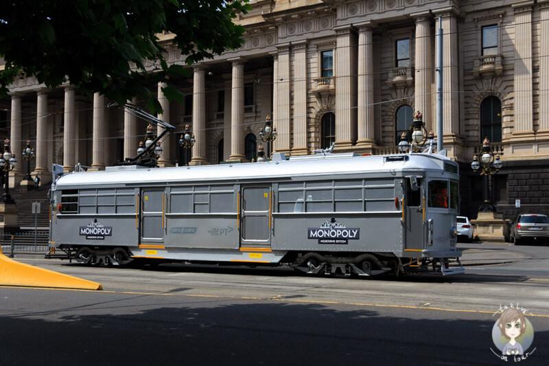 Wie originell, die Monopoly Bahn in Melbourne